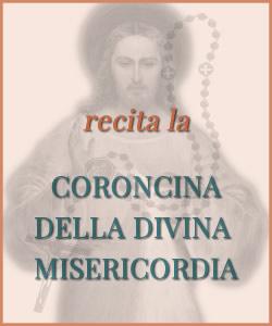 recita la coroncina della Divina Misericordia