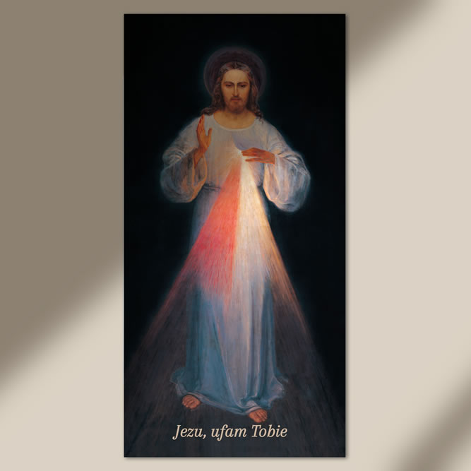 Quadretto grande Gesù Misericordioso Vilnius